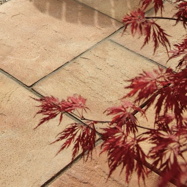 Bradstone Old Riven Paving Autumn Cotswold
